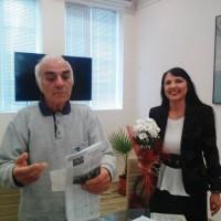 Бургаските писатели почетоха героите от Априлското въстание