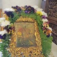 Чудотворната икона на свети великомъченик Георги от манастира в Хаджидимово