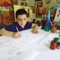 Училище, талант и детство се съчетават в едно!