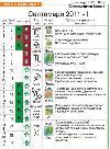 Лунен Календар за първата половина на месец септември